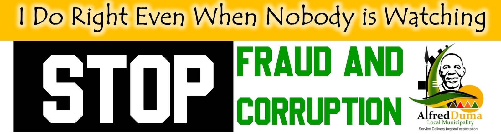 STOP Fraud and Corruption